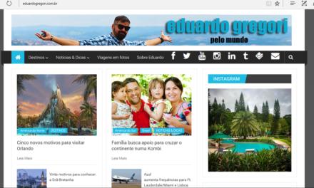 Saímos na mídia – Blog do Eduardo Gregori…veja!