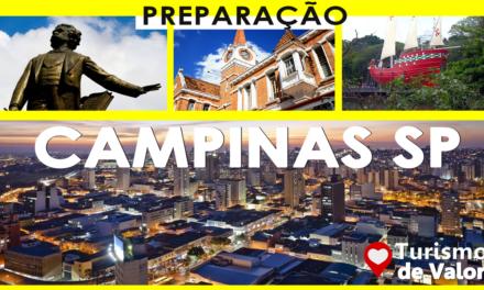 ROTEIRO DE PREPARAÇÃO TURISMO DE VALOR EM CAMPINAS SP